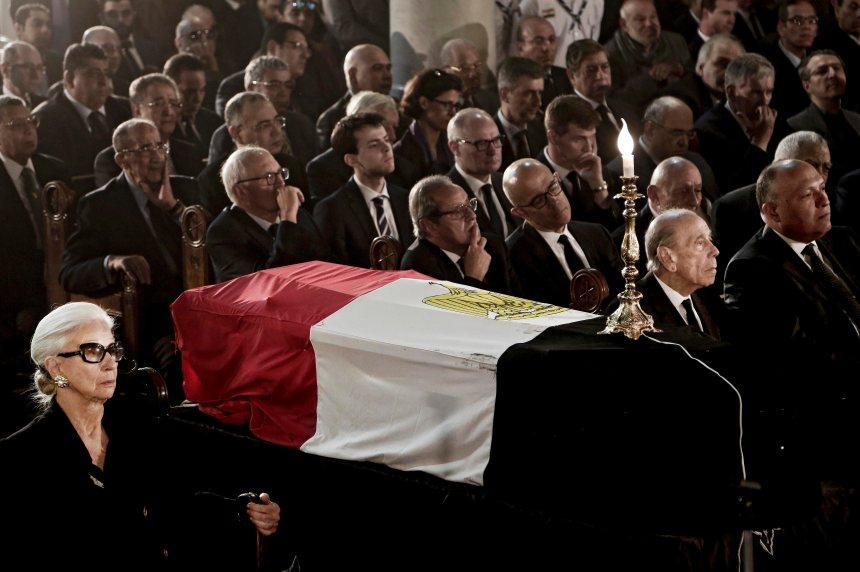 Boutros Boutros-Ghali porté à son dernier repos