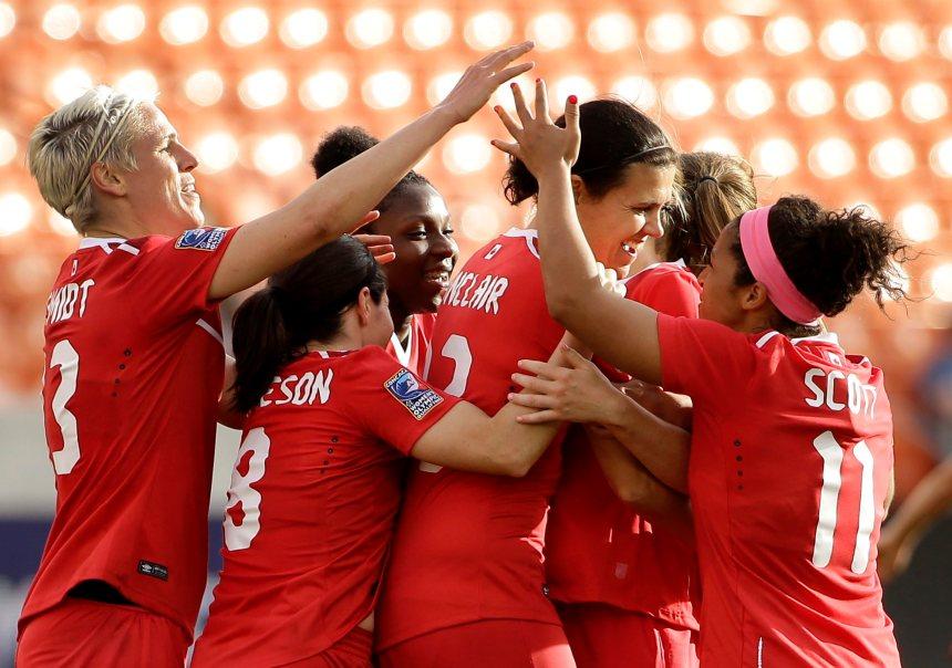 Soccer féminin: Le Canada défait Trinité-et-Tobago 6-0 aux qualifications olympiques