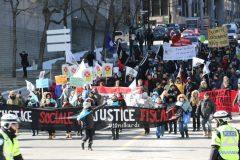 Manifestations dans plusieurs villes pour souligner la journée de la justice sociale