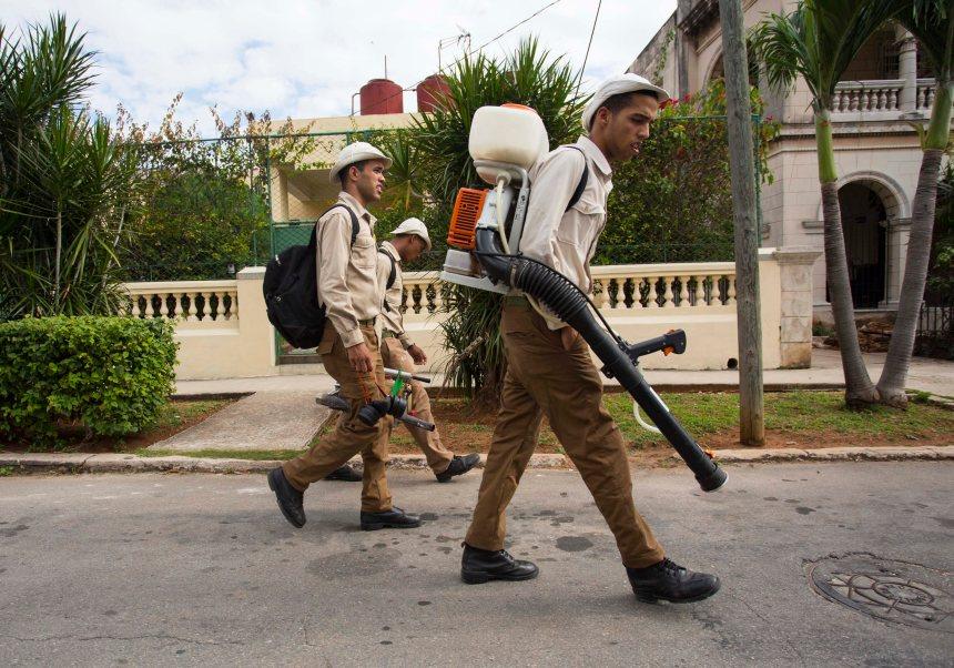 Le gouvernement cubain déploie 9000 soldats pour lutter contre le virus Zika
