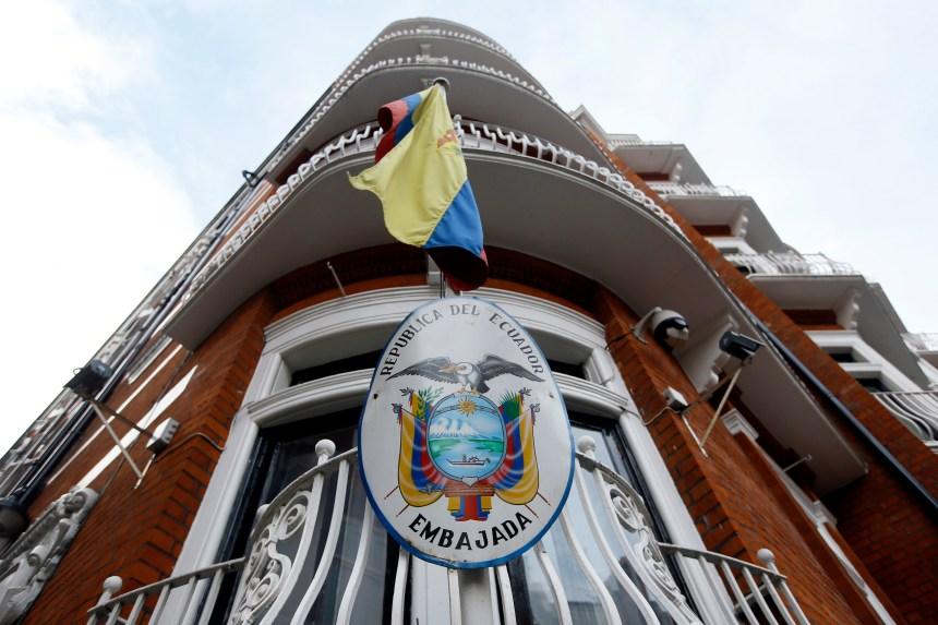 La détention de Julian Assange serait «arbitraire», selon l'ONU