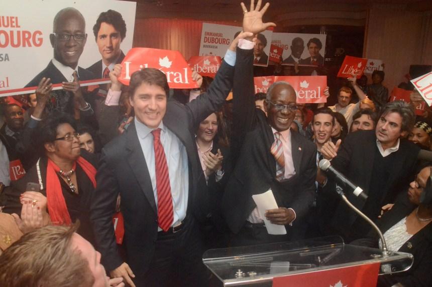 Dubourg «déçu», mais à la défense de Trudeau
