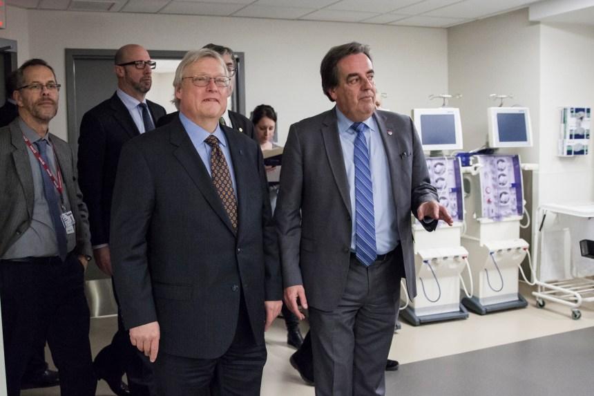 Hôpital de Lachine: une nouvelle salle d'hémodialyse de 4 M$