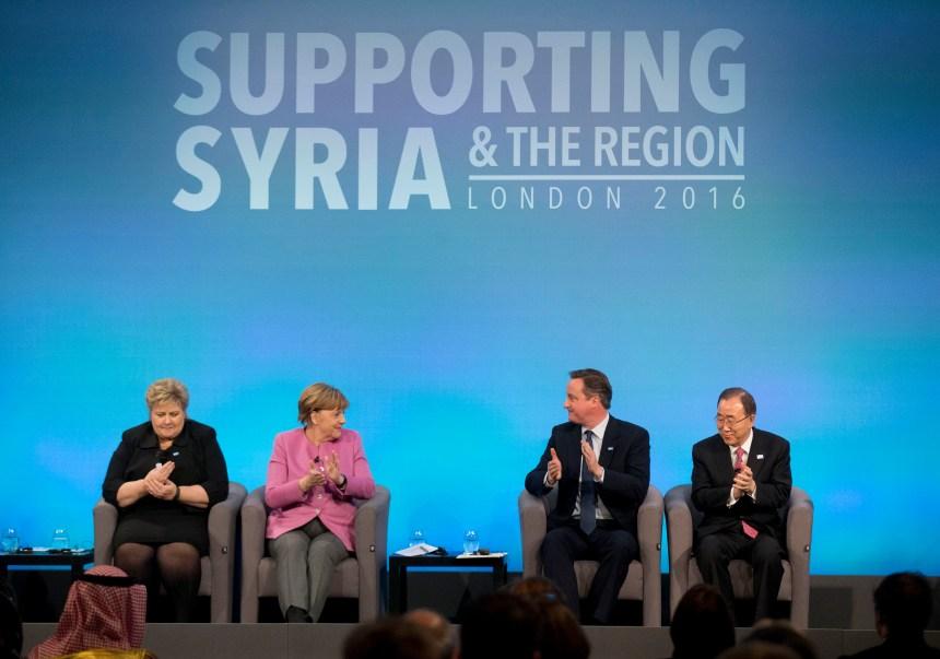 Les leaders du monde promettent 10G$US pour aider la Syrie