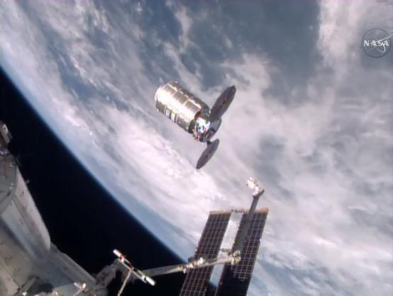 La station spatiale internationale se débarasse de 1,5 tonne de déchets