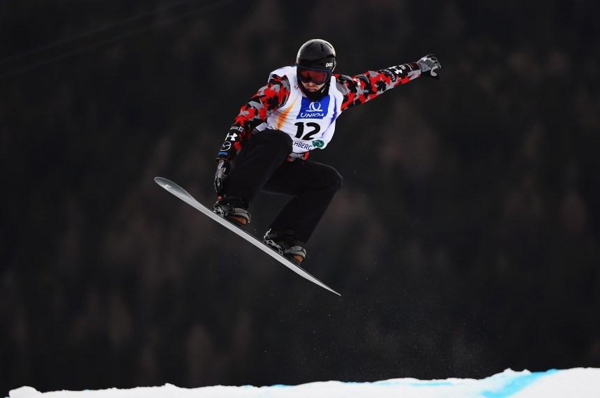 Robanske termine 2e en snowboardcross en Russie