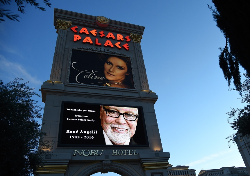 Céline Dion renoue avec le public de Las Vegas