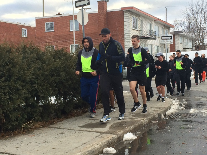Police et jeunes: une course pour se rapprocher à Montréal-Nord