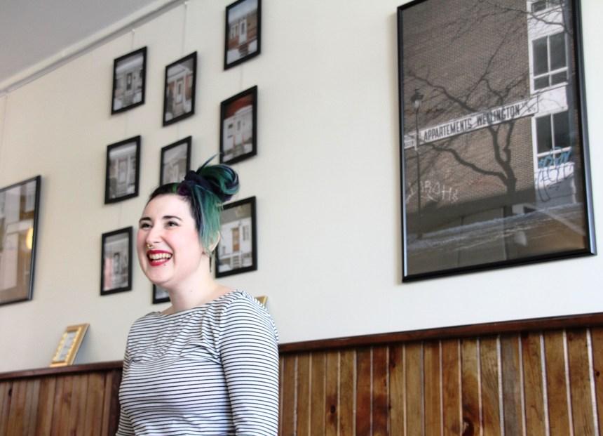 Baobab Café: Caroline Perron expose Verdun