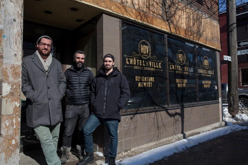 Nouveau resto-bar à Lachine: le fils du maire aura son «Hôtel de Ville»
