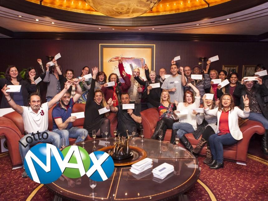 Billet gagnant du Lotto Max à Ahuntsic