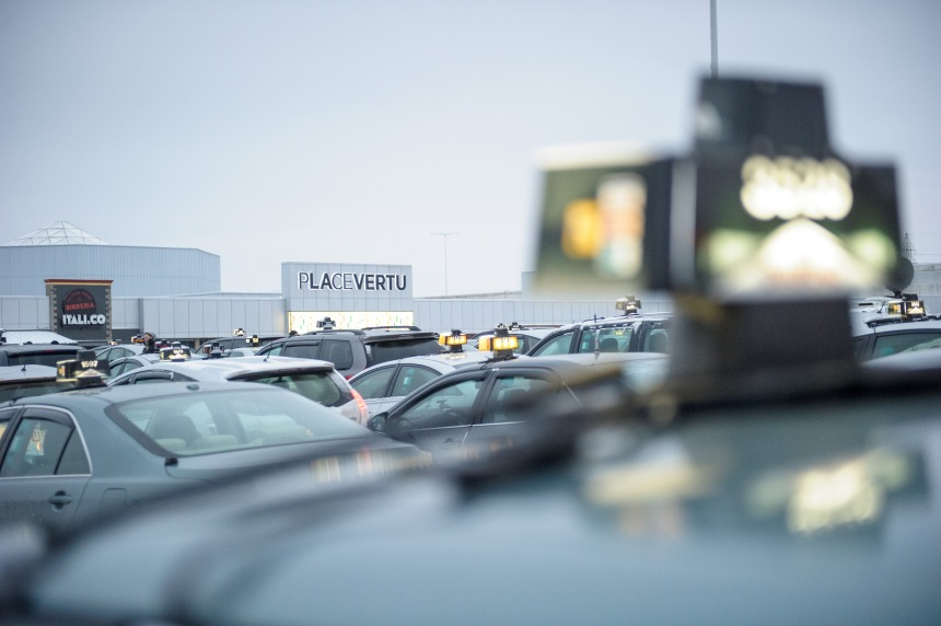 Perturbations de l'industrie du taxi contre le transport illégal