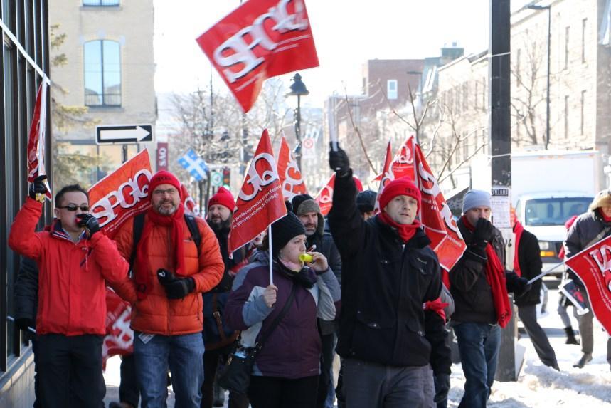 La légalité des grèves ciblées débattue en cour?