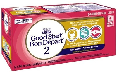 Nestlé rappelle de la formule pour bébé par mesure de précaution