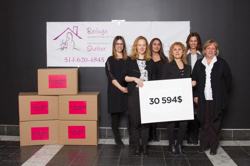 Organismes de bienfaisance: Le Château fait un don de plus de 50 000 $ en vêtements