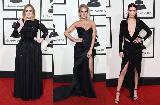 Les Grammy Awards 2016: les tendances du tapis rouge