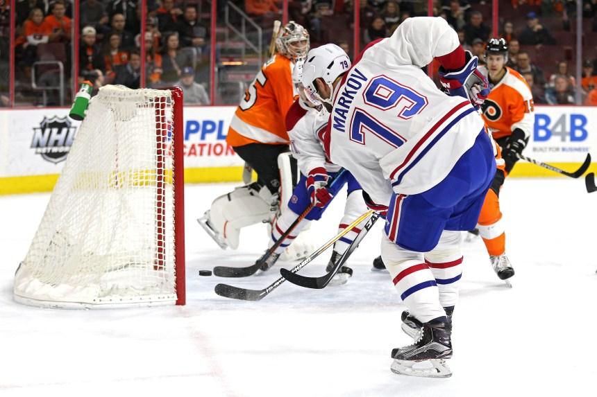 Canadien 2 – Flyers 4: Le jour de la marmotte