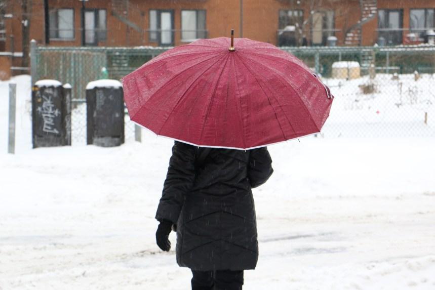 Tempête de neige au Québec samedi