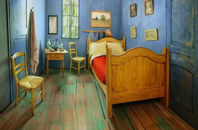 Louez ce Airbnb décoré exactement comme un tableau de Van Gogh