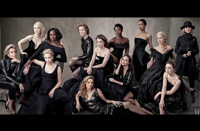 L'édition spéciale «Hollywood» du Vanity Fair ne met en vedette que des femmes