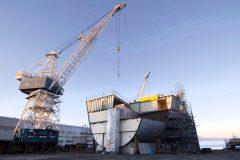 Ottawa devance la construction d'un navire, ce qui risque d'irriter la Davie