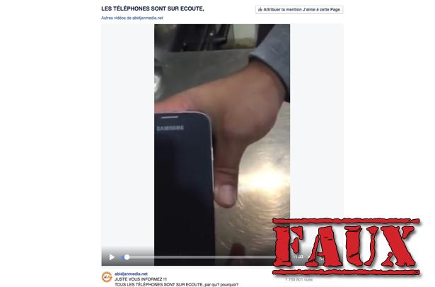 Non, «l'antenne cachée» dans votre téléphone Samsung ne sert pas à vous espionner