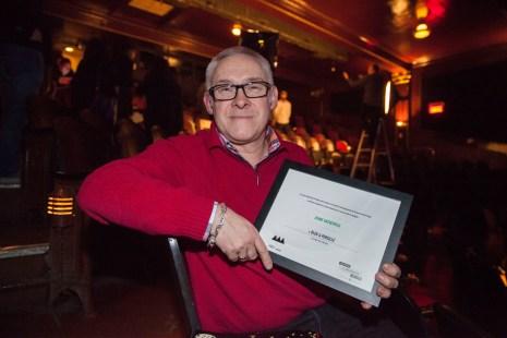 La fromagerie Bleu & Persillé , dont Franck Henot est le copropriétaire, s'est vue récompensée du prix Jeune entreprise.