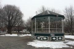 Le kiosque du parc Molson bientôt détruit et reconstruit