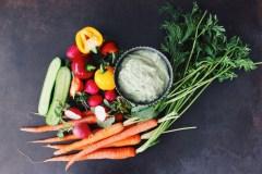 Manger sans gluten ni produits laitiers: Trempette aux herbes fraîches