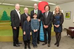 Investissement d'un demi million $ : Un nouveau terrain synthétique au Collège Sainte-Anne