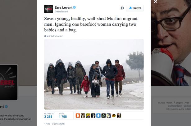 So Ezra Levant owes these seven migrant men an apology