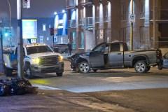 Un chauffard en fuite après une collision dans Rosemont