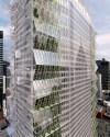 Concept de ferme verticale, élaboré par la firme montréalaise Lemay, pour réinventer une tour iconique de New York.
