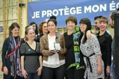 Les parents du comité Je protège mon école publique médaillés