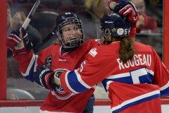 La célébration du hockey féminin