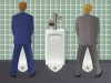 Men Using Urinal