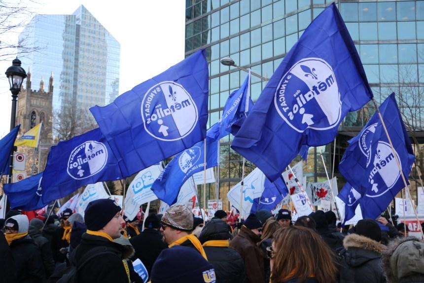 Briseurs de grève: les Métallos veulent une amende de 10 000 $