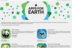 Apps pour la planète: du contenu exclusif au profit du WWF