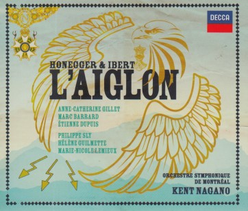 Art CD Honegger & Ibert L'aiglon