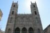 La basilique Notre-Dame, dans le Vieux-Montréal, a été bâti avec de la pierre grise de la carrière Martineau, dans le Mile-End.