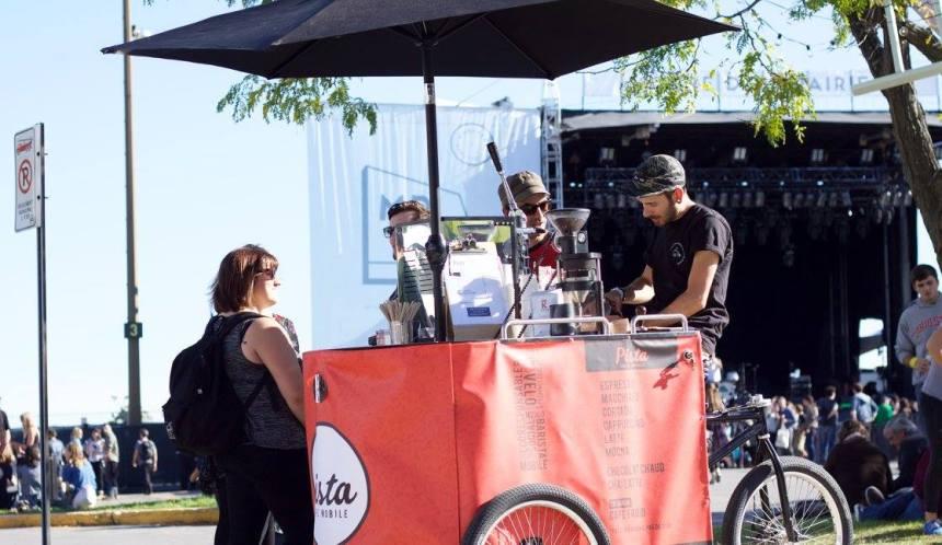 La vente de café en tricycle autorisée dans Rosemont