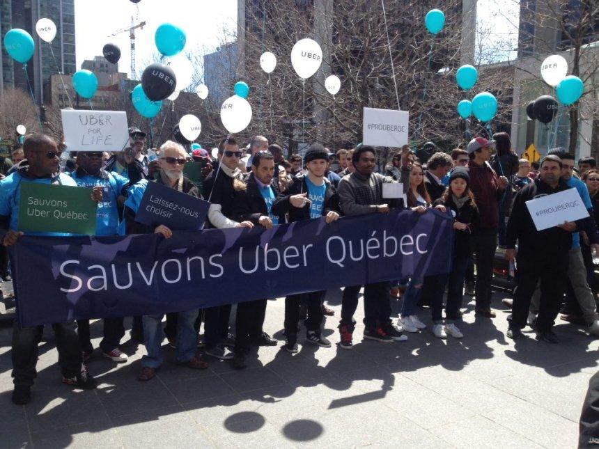 Uber veut un projet de loi uniquement sur le covoiturage commercial