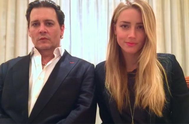 La vidéo d'excuses d'Amber Heard et Johnny Depp n'est aucunement crédible