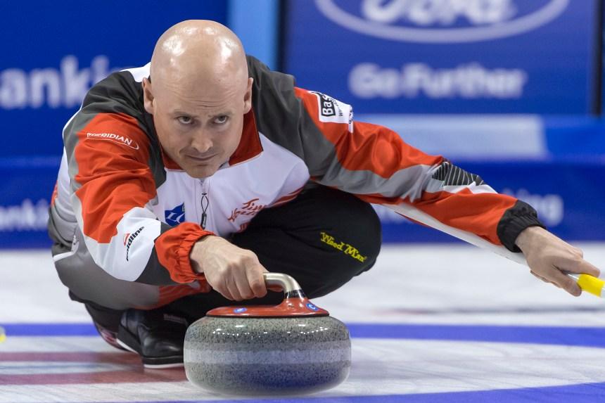 Koe en finale du Mondial de curling masculin