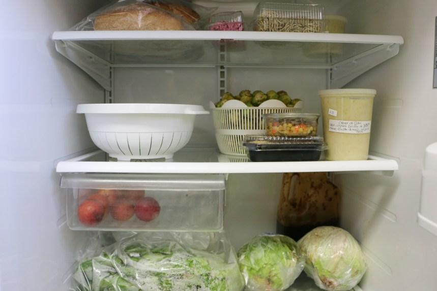 Un repas complet grâce aux frigos en libre-service