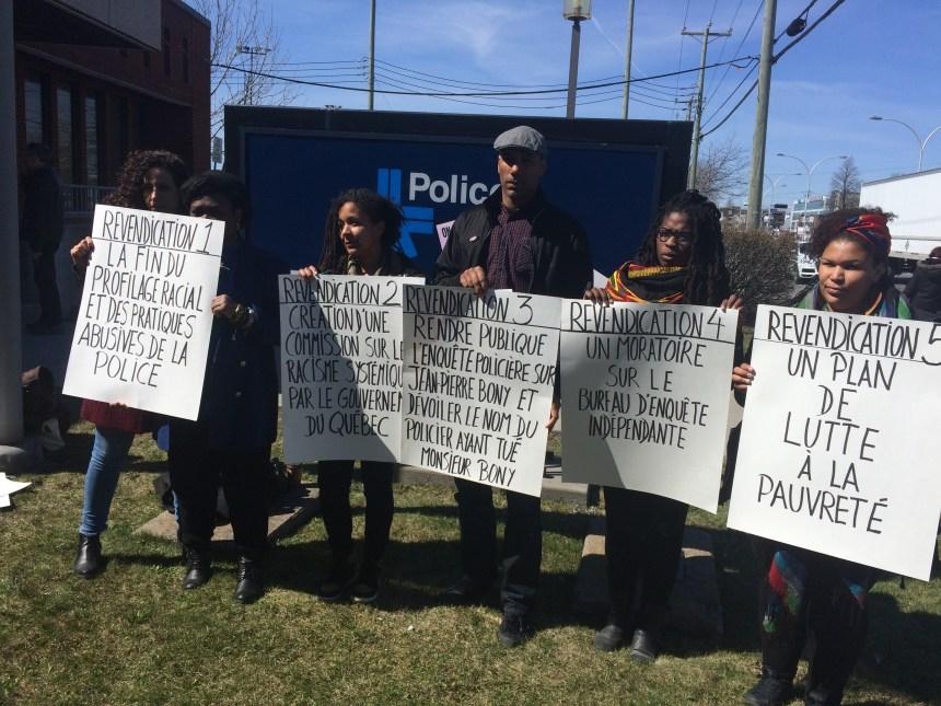 Un appel à la fin du racisme anti-noir au Québec lancé
