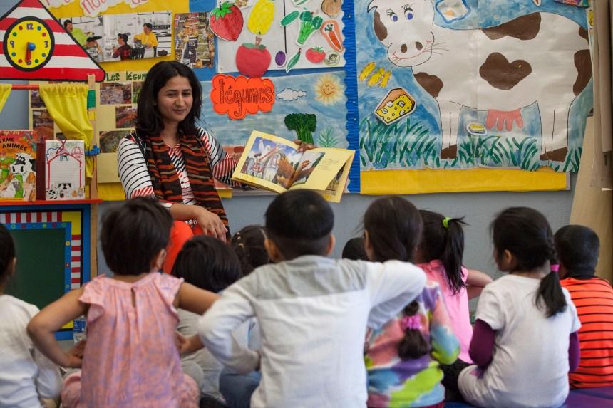 Francisation: la lecture de contes comme outil d'apprentissage