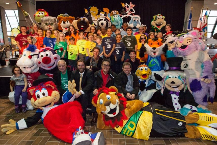 5000 jeunes aux 39e Jeux de Montréal