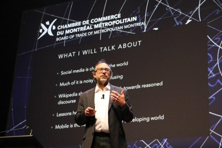 Le cofondateur de Wikipédia Jimmy Wales s'attaque aux frais des données cellulaires