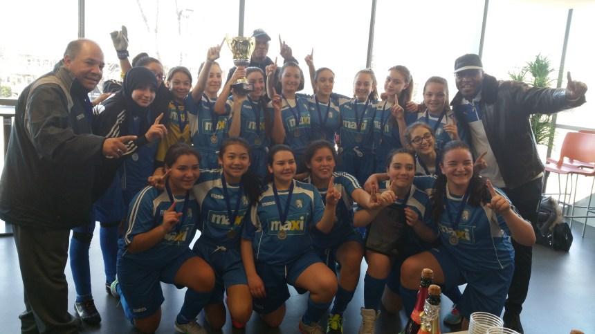 Les Lions U13A championnes